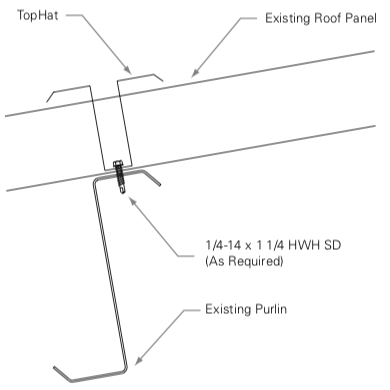 TopHat Subframe Installation Diagram
